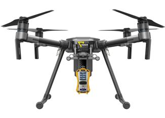 gas detector drone